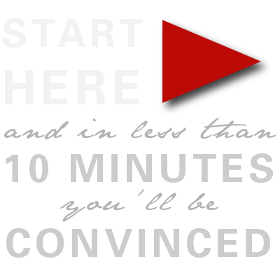 START HERE and you'll be convinced in 10 minutes.