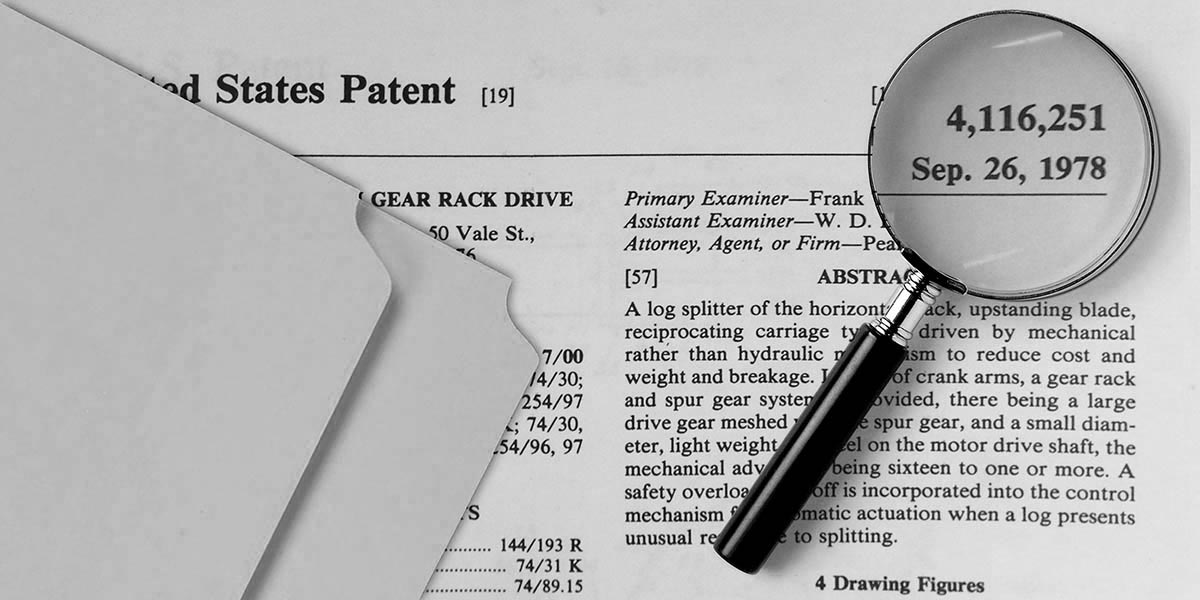 SuperSplit Patent: 1978